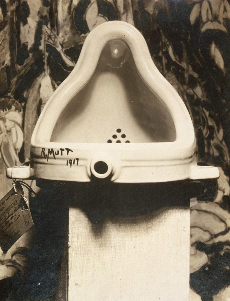 Fountain, Marcel Duchamp, Public domain, via Wikimedia Commons