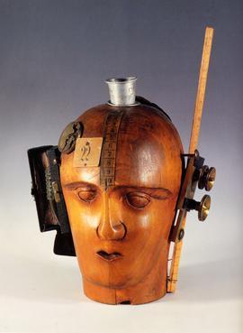 Spirit of the Age: Mechanical Head, Raoul Hausmann, 1919, Musée National d'Art Moderne, Centre Georges Pompidou, Paris.