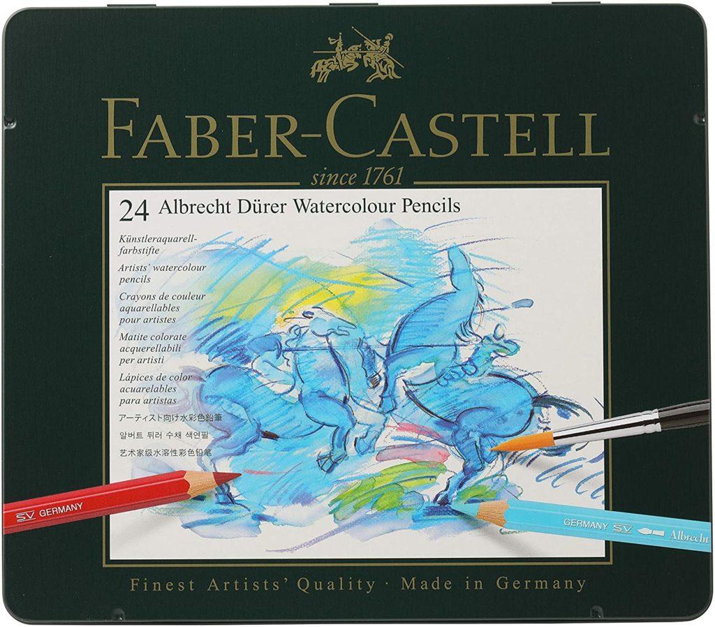 Faber-Castel FC117524 Albrecht Durer Artist Watercolor Pencils