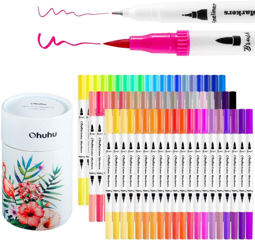Ohuhu Watercolor Markers