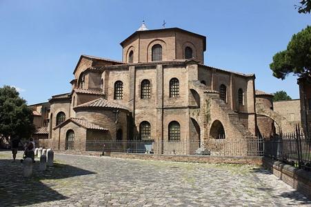 San Vitale, c. 547 AD, Ravenna, Italy.
