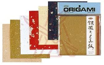 Aitoh Origami Ginburi Momigami Washi Paper
