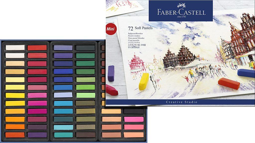 Faber-Castel FC128272 Creative Studio Soft Pastel Crayons