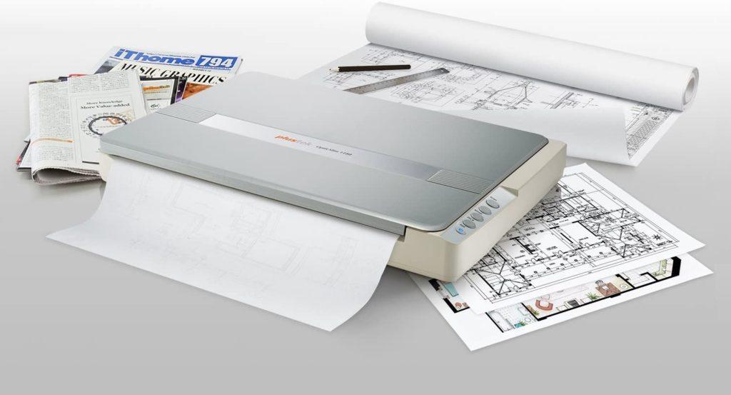 Plustek A3 Large Format Flatbed Scanners