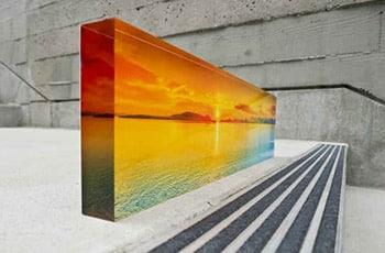 Acrylic Photo Block from Bumblejax